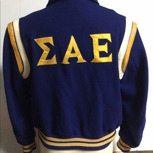 Other - Men's Vintage 1974  Wool Fraternity Varsity Jacket